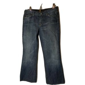 Seven 7 For All Mankind Blue Denim Jeans Flair Size 30